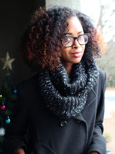 Love her hair check out her blog @ NikGlifeandstyle