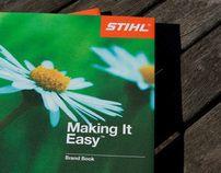 """Popatrz na ten projekt w @Behance: """"STIHL - Making It Easy™ Brand Book"""" https://www.behance.net/gallery/2341804/STIHL-Making-It-Easy-Brand-Book"""