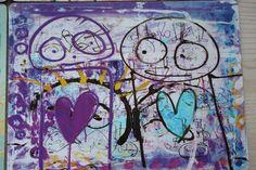 Poul Pava Scandinavian, Canvas, Drawings, Illustration, Creative, Artist, Inspiration, Design, Hearts
