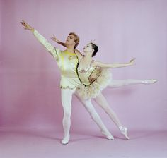 "Suzanne Farrell and Peter Martins, in a New York City Ballet production of ""The Nutcracker."" (New York)"