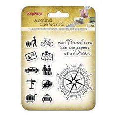Around The World Clear Stamps