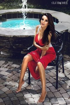 Rosy Boix-Gerold, Red Dress, Fashion
