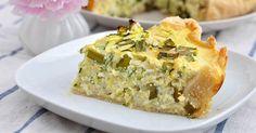 Crostata di zucchine vegetariana: ricetta