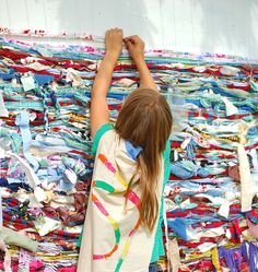 Community weaving project.#Repin By:Pinterest++ for iPad#