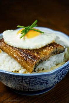 Japanese Broiled Eel Rice Bowl 03