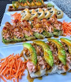 °I LOVE SUSHI° Healthy Summer Dinner Recipes, Healthy Recipes, Homemade Sushi, Food Platters, Food Goals, Asian, Aesthetic Food, Morning Food, Food Cravings