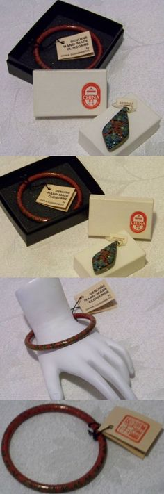 Sets 98513: Estate Find Vintage Rare Chinese Cloisonne Friendship Store Bracelet And Pin -> BUY IT NOW ONLY: $125 on eBay!