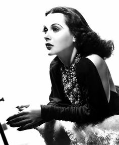 """Hedy Lamarr by Clarence Sinclair Bull, publicity portrait for her first American film """"Algiers"""", 1938. """""""