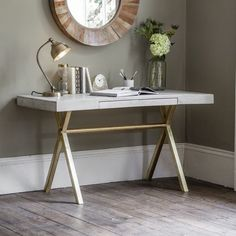 Add an eye-catching focal point to any room with the Chevron range of furniture and dining sets. Its artisanal craftsmanship features an eco-friendly bleached mango wood design, ideal for modern spaces. Bedside Drawers, Desk With Drawers, Work From Home Moms, Make Money From Home, Work Desk, Office Desk, Table Furniture, Home Furniture, White Washed Furniture