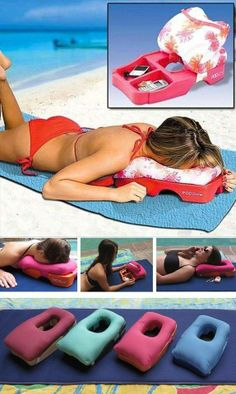 Ideal Two-in-One Massage and Tanning Pillow Massage & Tanning Pillow… Where has this been all my life? Where can I buy this? Massage & Tanning Pillow… Where has this been all my life? Where can I buy this? Things To Buy, Things I Want, Good Things, Summer Fun, Summer Time, Hello Summer, Spring Summer, Take My Money, Cool Inventions