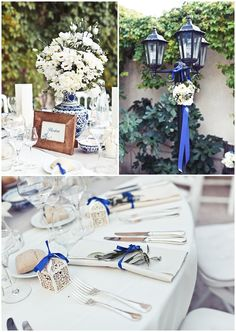 Royal blue is such an elegant color for our wedding!