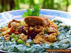 Romanian Food, Fried Rice, Grains, Good Food, Ethnic Recipes, Dinners, Dinner Parties, Food Dinners, Seeds