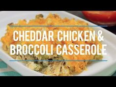 Broccoli cheddar is an amazing combination! So we made a delicious, low carb Cheddar Chicken and Broccoli Casserole that's perfect for dinner any night of the week!