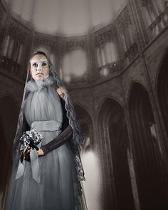 Gray Lady Ghost Costume