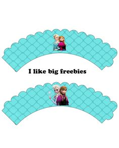 I like big freebies: cupcake wrappers