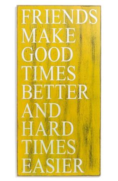 Primitives by Kathy 'Friends Make Good Times Better' Box Sign available at #Nordstrom