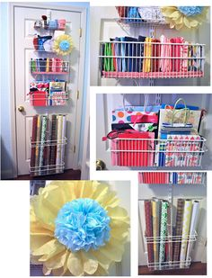 Beautiful I Have Told A Lot Of People About This Article I Saw In Februaryu0027s BHG.  This Is A Over The Door Organizer By Chefu0027s Catalog But It Makes A Perfectu2026
