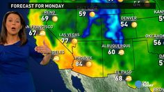 Mar 9 - Monday's forecast: A taste of spring for much of USA