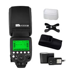 Pixel X900N TTL HSS Flash Speedlite with Lithium battery for Nikon with LED Light $240.99 by free shipping