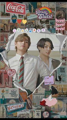 Foto Bts, Taekook, Bts Jungkook, Photo Kawaii, Vkook Memes, V Bts Wallpaper, Lock Screen Wallpaper, Bts Aesthetic Pictures, Bts Playlist