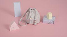 BALLOON MINI HIELO bag from LEATHER TOYS collection -LESS BORE- #handmade #slowfashion #modaresponsable #diseño #bolso #cuero #leather #bag #lessbore