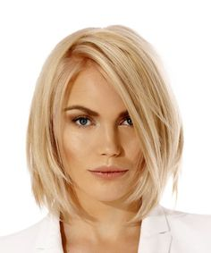 Short Bob Hairstyle - Straight Casual - Light Blonde   TheHairStyler.com
