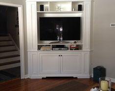 corner television cabinet