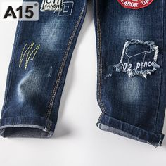 Children Jeans Kids Pants Boy Jeans Pants Kids Trousers Navy Blue Spring Autumn 2017 New Baby Girl Jeans Trousers 3 4 5 6 Boys White Jeans, Girls Jeans, Jeans Dress, Jeans Pants, Trousers, Best Mom Jeans, Baby Girl Jeans, Autumn 2017, Blue Springs