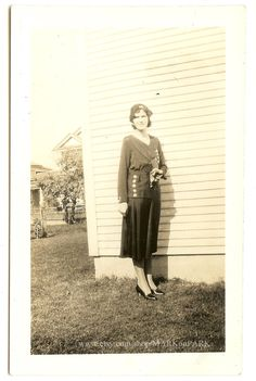 Stylish Women's Daywear Vintage Photograph 1930s by MARKonPARK