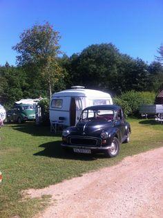morris + vintage egg caravan