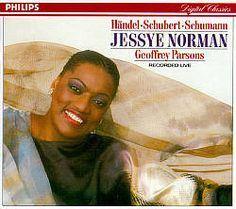 Jessye Norman Sings Händel, Schubert, Schumann