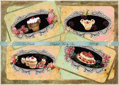 3 x 5    Digital Art  Cupcake Heaven   by CountryAtHeart2008, $4.99