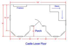 castle lower floorplan