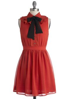 Ruffle Ball Change Dress, #ModCloth