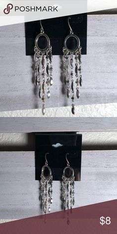 Shop Women's size OS Earrings at a discounted price at Poshmark. Silver Earrings, Dangle Earrings, Silver Color, Dangles, Shop My, Cute, Closet, Jewelry, Armoire
