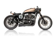 Deus V-Twin Cafe Racer.. from a Harley Sportster 1200