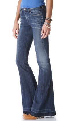 Citizens of Humanity Charlie Super Flare Jeans-- truly the PERFECT bellbottoms. The best!! So happy they are back.