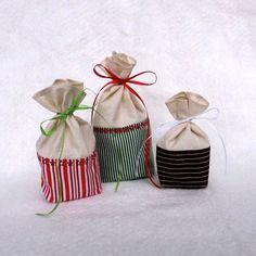Reusable Fabric Gift Bag by TwiggyandOpal