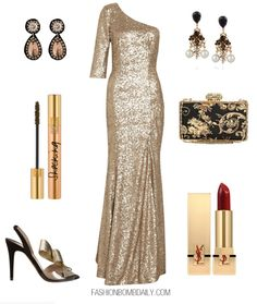 Fall 2012 Style Inspiration: What to Wear to a Black Tie Holiday Party