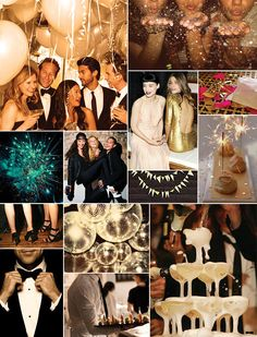 New Years Eve Inspiration Board | Camille Styles