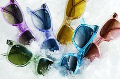 Ray Ban Ice Pop Collection- Need the Green! And Purple. And Pink. And Blue.