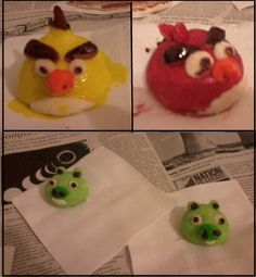Angry Birds cooling off..
