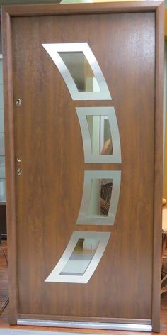 """Size : W 39 1/4"""" x H 82""""   Door Entrance : W 36"""" x H 80""""   Rough Opening Needed For Installation : W 40"""" x H 82 1/2""""  Price : $1,450.00  Construction : Foam , Metal Sheets with a PVC Veneer  Door Handles : Schaffner  Locks : Anti-Theft 3 Point Locking System / Canadian Structural System  Color :  Walnut   Door Opening : Right Swing In  and Left Swing In Option Available   Pre Hung Exterior Door Includes Frame and Hardware"""