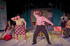 Hairspray NOW PLAYING at the Steel River Playhouse Hairspray Musical, Stage Set Design, Musical Theatre, Play Houses, Jr, Theater, Musicals, Broadway, Lovers