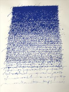 Christophe Badani. 2017. Calligraphic Abstraction. Gouache on paper. 50x70 cm.