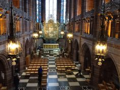 Liverpool Anglican Cathedral - Lady's Chapel