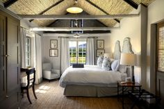 The Werf cottages offer ravishing views of the idyllic Franschhoek and Stellenbosch countryside, and are within walking distance of our celebrated restaurants. Bedroom With Ensuite, Large Bedroom, Interior, Best Hotels, House, Hotel, Home Decor, Cottage, Hotels Room