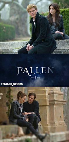 Serie Fallen, Fallen Saga, Fallen Novel, Fallen Book, Fallen Angels, Fantasy Movies, Fantasy Books, Movies And Series, Book Series