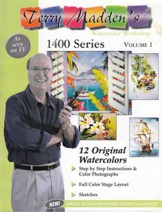 Terry Madden's Watercolor Workshop 1400 Series Volume 1 2003 Terry Madden #TerryMadden