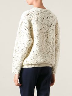 Stella Mccartney Crochet Sweater - Smets - Farfetch.com